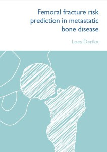 Cover of Dissertation from Loes Derikx. Orthopaedic Research Lab Nijmegen. Radboud univerity medical centre