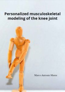 Cover of Dissertation from Marco Marra Ph.D. | Personalized Musculoskeletal Modeling of the Knee Joint | Orthopaedic Research Laboratory Nijmegen | radboudumc | Radboud university medical centre Nijmegen